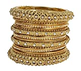 Muchmore 22K Gold Plated Bangle Set For ...