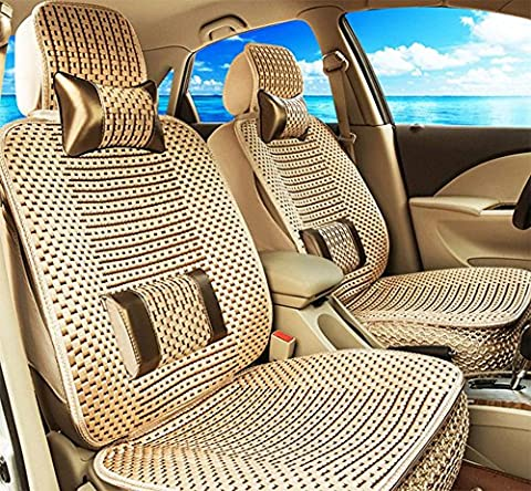 Car Seat Cushion Four Seasons As Gift High Quality Embroidery Danny Leather Car Seat Cover Universal Luxury Car Seat , A