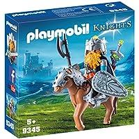 Playmobil Knights 9345 Niño kit de figura de juguete para niños - kits de figuras de juguete para niños (5 año(s), Niño, Multicolor, Acción / Aventura, Caja cerrada, 2 pieza(s))