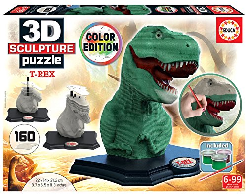 Educa Borrás – Star Wars Farbe 3D Sculpture Puzzle T-Rex (17848)