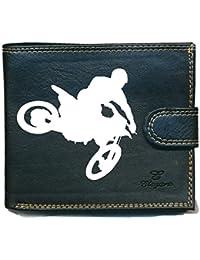 Damen Tasche Geldbörse Portemonnaie Motocross Cross