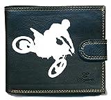 Schutzhülle, Geldbörse Herren Portemonnaie, Karten, Moto cross