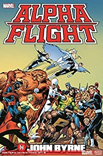 Alpha Flight by John Byrne Omnibus (1302904051) | Amazon Products