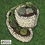 Kräuterspirale Gabione 90 x 110 cm, 95605 von Gartenwelt Riegelsberger