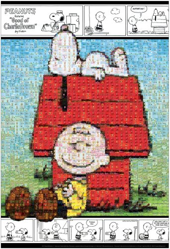 and 1000 piece mosaic Snoopy Peanuts (japan import) (Snoopy Puzzle)