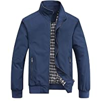 Pomo-Z Men's Casual Bomber Jacket