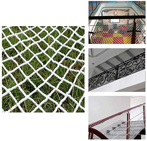 AI LI WEI Protective net Decoration/Sicherheit Anti-Sturz Nylon Net - Kinder Pet Treppen Balkon Treppen Schutznetz Indoor Weiß Dekorative Mesh-Seil 6mm / Gitter 5cm Größe Optional (Size : 3 * 5m)