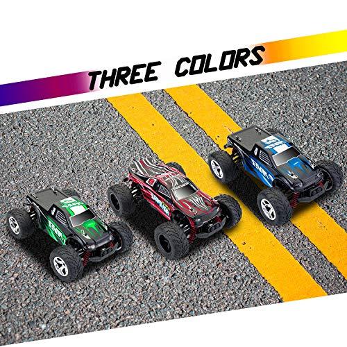 RC Auto kaufen Truggy Bild 4: MaxTronic RC Cars, RC Auto Rock Offroad Racing Fahrzeug Crawler Truck 2,4 Ghz 4WD High Speed 1:20 Radio Fernbedienung Buggy Elektro Fast Race Hobby- Blau (Grün)*