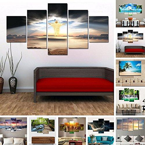 TOPmountain-5-x-mucho-abstracta-moderna-Paisaje-Arte-de-la-lona-pared-pintada-Aceite-de-imagen-impresa-Para-pintar-Decoracin-del-hogar