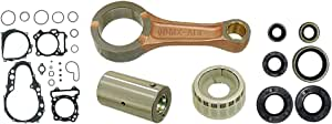 Outlaw Racing OR4774 Connecting Rod Kit w//Gaskets Suzuki Rm250 1992-1993 Dirt