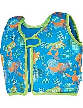 Zoggs Chaleco para Nadar para ni&ntilde Zoggy–Azul, Niños, Color Blue/Multi-Colour, tamaño 2-3 años