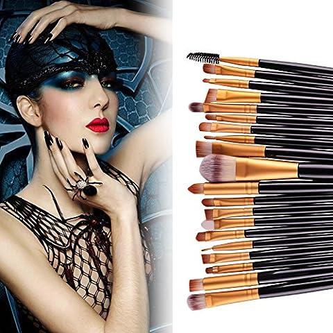 Hansee Lot de 20pinceaux de maquillage