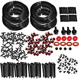 KING DO WAY Micro Flow Drip Watering Irrigation Kits System Self Plant Garden Hose Watering Kits 92M