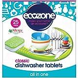Ecozone Tablettes Lave-Vaisselle 5 en 1 Parfum Naturel de Citron