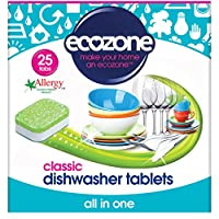 Ecozone All In One Classic Dishwasher Tablets, 25 Tablets