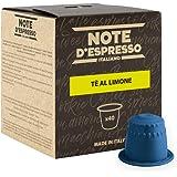 Note D'Espresso Preparato Solubile per Bevanda al Gusto di Tè al Limone - 320 g (40 x 8 g) Esclusivamente Compatibili con le