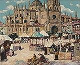 Das Museum Outlet-Marktplatz, Segovia,