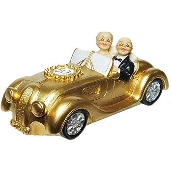 Amazon De Spardose Gold Hochzeitspaar Sparschwein Sparbuchse