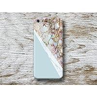 Blau Marmor Handy Hülle Handyhülle für Samsung Galaxy S8 Plus S7 S6 Edge S5 S4 mini A3 A5 J5 2016 2017 Note 4 5 Core Grand Prime