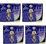 4x glade DUFTKERZE im Glas 120g - Velvet Tea Party Limited Edition