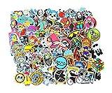 100 Stk Stickerbomb Gaming Motive Wie Abgebildet Aufkleber Farbig Auto Skateboard Helm Laptop Gepäck Decals