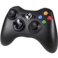 Diswoe Manette Xbox 360, Contrôleur de Jeu sans Fil pour Xbox 360 avec Double Vibration, Bluetooth Gamepad Manette du…
