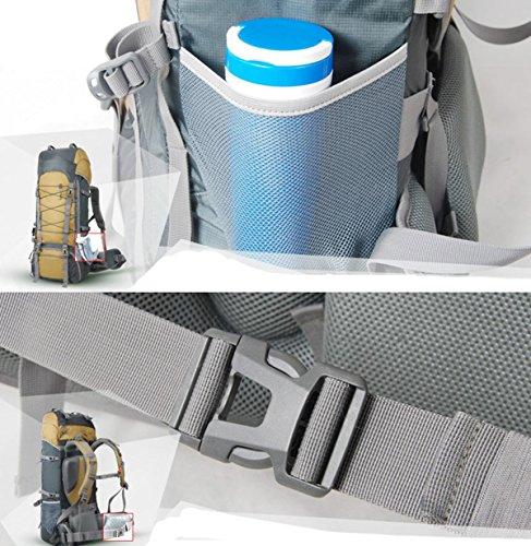 DBZD Bergsteigtasche, Laptop Outdoor Rucksack, Reise Wandern & Camping Rucksack Pack, Schulter Buch Taschen Zurück B