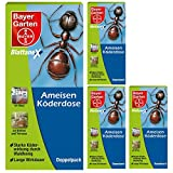 Bayer Blattanex Ameisen-Köderdose wirkt bis ins Nest Ameisenmittel, 4 x 2 Stück