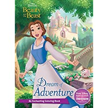 Dream of Adventure: An Enchanting Coloring Book (Disney Princess: Beauty and the Beast)