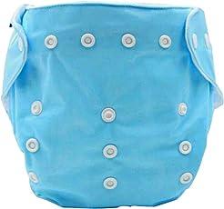 Aivtalk Baby Trainerhose Waschbar Stoffwindeln Windelhose Auslaufsichere Tuch Windeln Training Pants Unterwäsche Größe Verstellbar, 0-2 Jahre