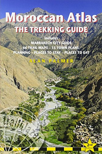 Moroccan Atlas. The Trekking Guide. Trailblazer.
