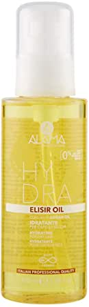 Alama Professional Hydra Elisir Oil Idratante per Capelli Secchi, Giallo, 100 Millilitri