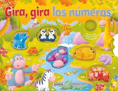 Gira, gira los números por Susaeta Ediciones S A