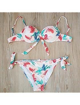 Conjuntos de Bikini Sexy traje de baño Trajes de Baño Moda adelgazantes Split bañador, imágenes,XL