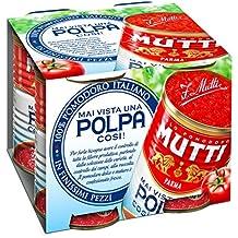 Mutti Polpa di Pomodoro in Finissimi Pezzi - 6 Confezioni da 4x400g