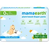 Mamaearth Plant-Based Diaper Pants for Babies – 4-6 kg (Size S - 30 Diapers)