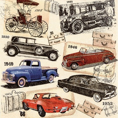 20-paper-napkins-33-x-33-cm-vintage-oldtimer-cars-classic-car-ford-chevi-chevrolet-buick