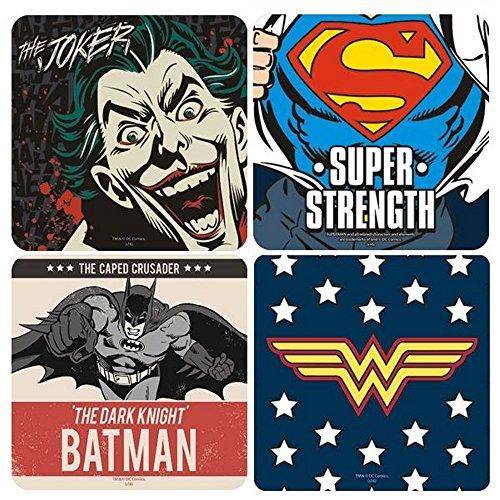 ntersetzer 4er Set - Batman Vs Superman (Hochwertige Superman Kostüme)