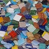 mixed-store mosaïque en verre 20x 20x 4mm, 700g, Mélange multicolore, 803023