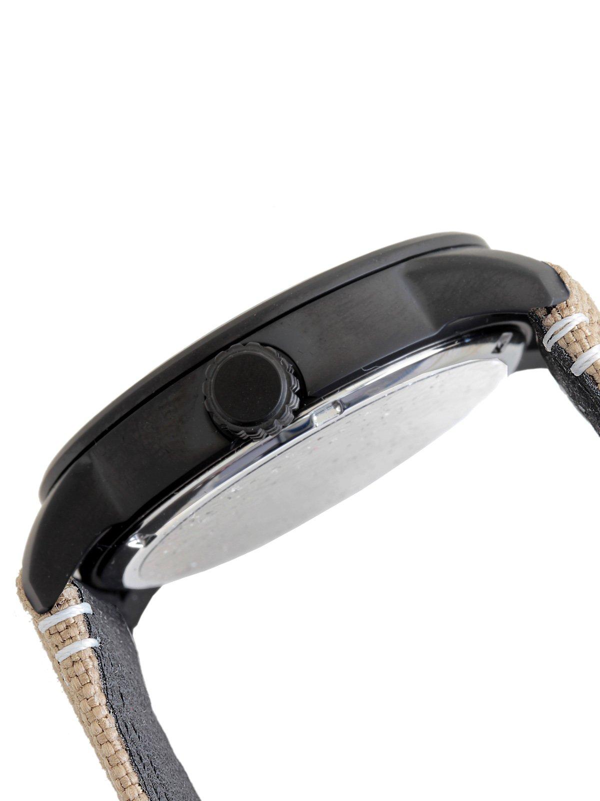Citizen de hombre reloj de pulsera Elegance analógico de cuarzo, Eco Drive (Talla Única, Negro) 3