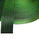 "50 meter x 50mm Polypropylene 2"" Webbing Assorted Colours (Green)"