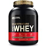 Optimum Nutrition Gold Standard Whey Muscle Building and Recovery Protein Powder with Glutamine and Amino Acids, Double…