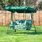 Swing Seat for 2 with Classic Leaf Gr...