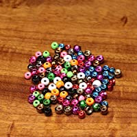"""20 x TUNGSTEN beads - 1,5mm - 1/16"""" (0,025g) - Choice of colors - for fly tying"""
