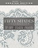 Fifty Shades Trilogy Unrated Collection Fifty Shades of grey/Fifty shades Darker/Fifty shades freed Unrated +Theater Blu-ray Region Free Available now !!
