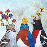 PPD The Berry Festival Servietten, 20 Stück, Tischservietten, Tissue, Bunt, 33 x 33 cm, 1331903