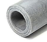 Aluminiumgewebe Alu-Gewebe Fliegengitter Gewebe 0,80 x 5,0 m Grundpreis/m² 5,61 Euro