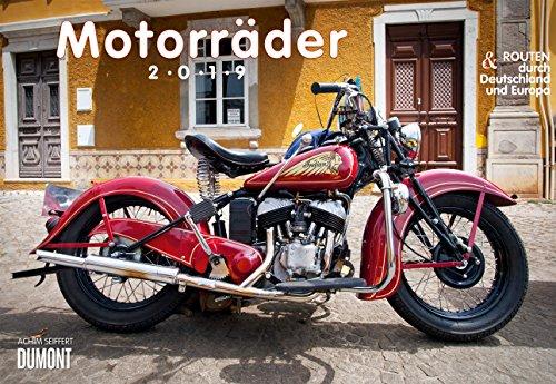 Motorräder - Kalender 2019 - DuMont-Verlag - Broschurkalender mit Platz für Eintragungen - 42 cm x 29 cm (offen 42 cm x 58cm)