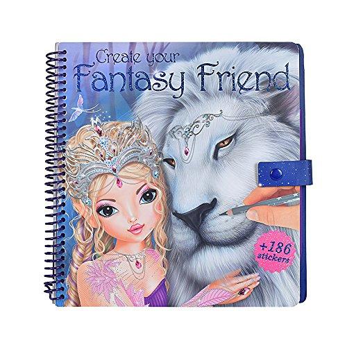 TOPModel 8061 - Create your Fantasy Friend Malbuch mit Rubbelbildern - 2