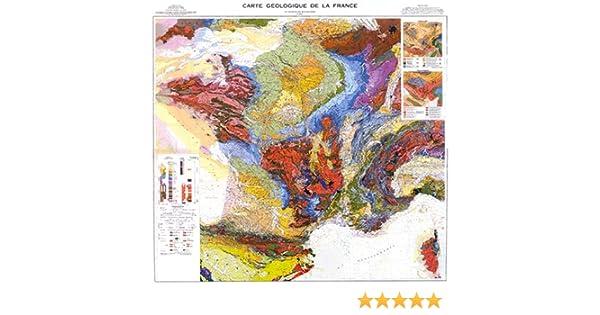 Carte Geologique Australie.Amazon Fr Carte Geologique De La France 1 1 000 000 Brgm Livres